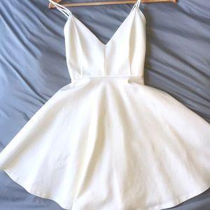 i'm selling a white skater dress